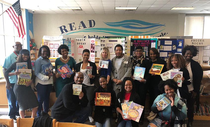 12.3.18 Monday Reading Program Group Pho