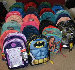 First Annual BackPacks 2 School Proj