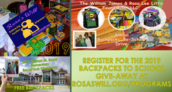 2019 BackPack-To-School Supplies Flyer