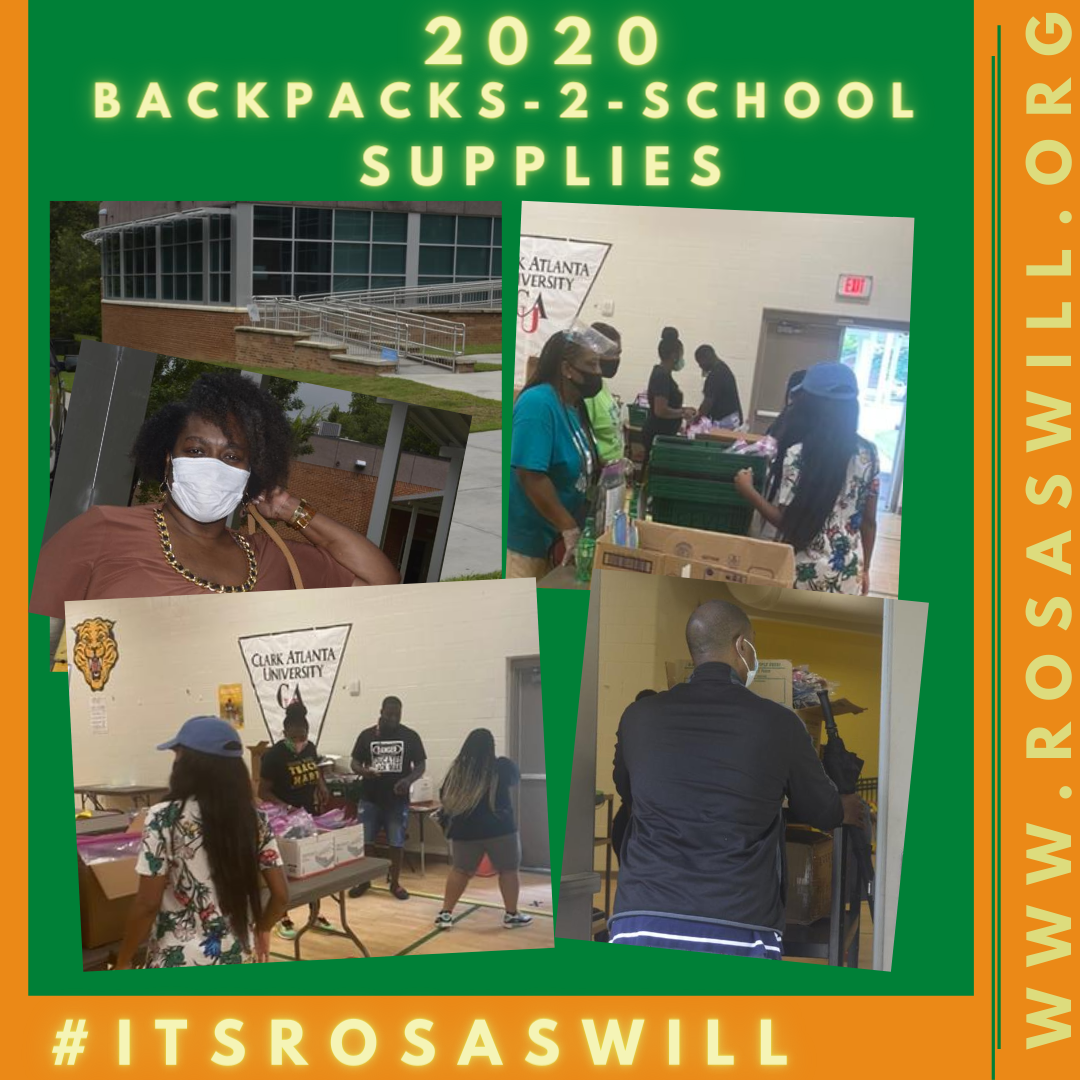 2020 BackPacks N School Supplies Distribution Day