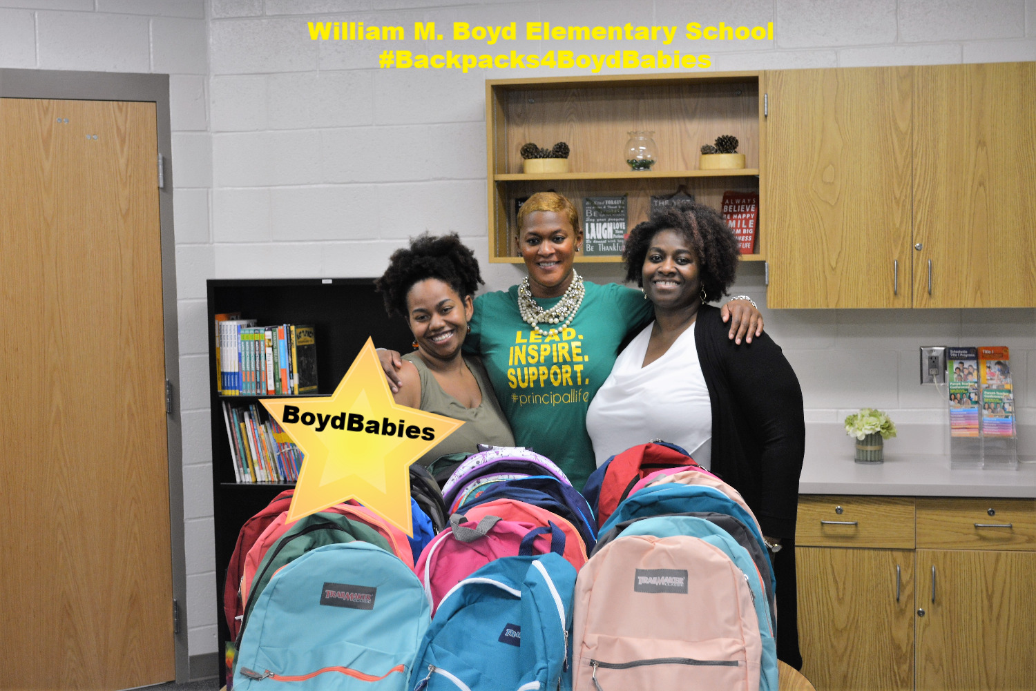 1ST BackPacks-2-School Supplies Dr