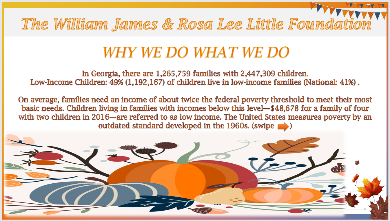2019 THANKSGIVING The Why AD