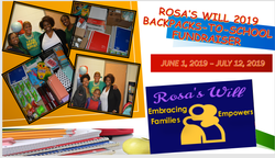 2019 BackPack-To-School Supplies Fundrai
