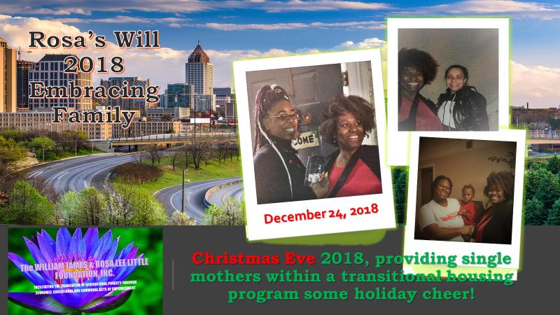 Christmas 2018 Embracing Family