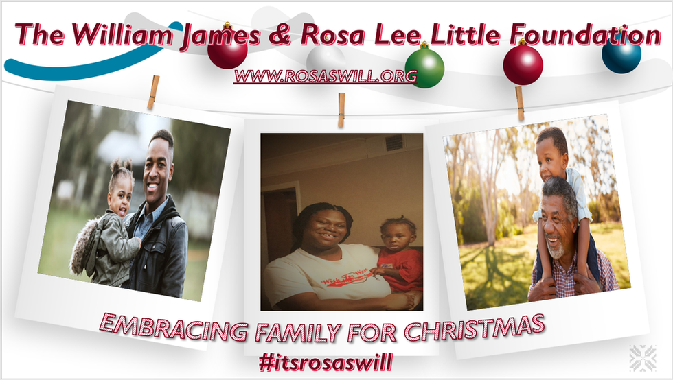 2019 Embracing Family For Christmas Recipients