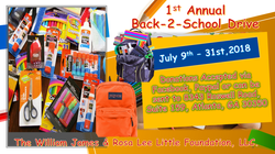 1ST BACK TO SCHOOL DRIVE 2018 FB3