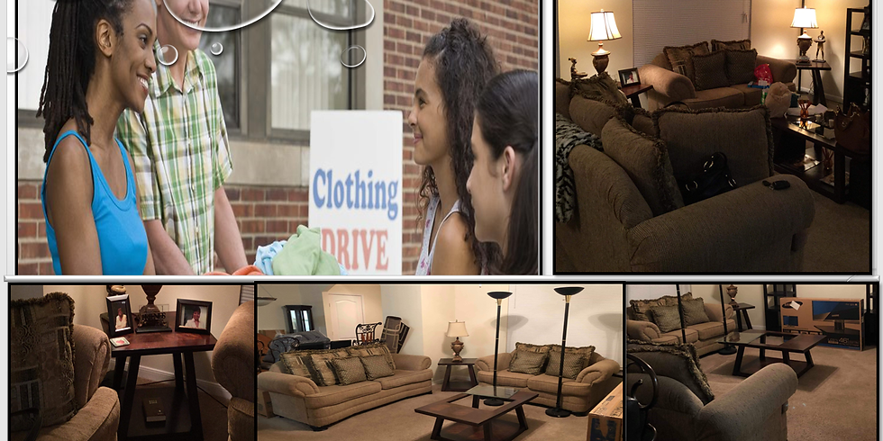 Donations & Assistance:  Furniture, Clothing & Household Items