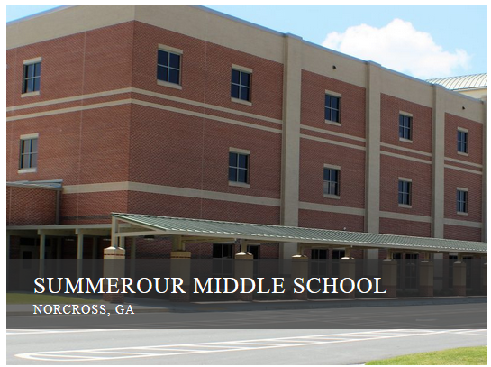 Sommerour Middle School - Norcross, GA .