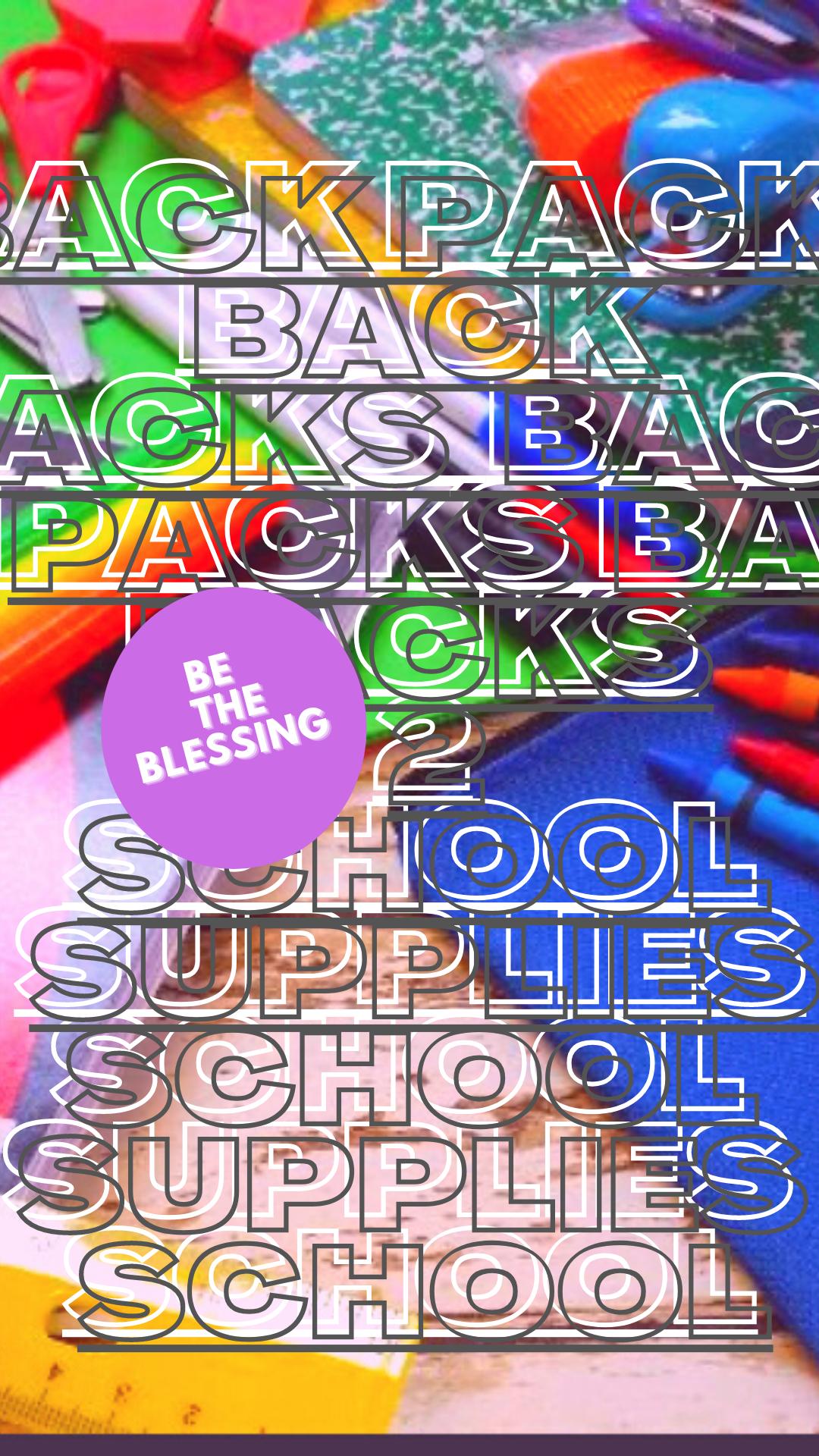 2020 BackPacks N School Supplies Fundrai
