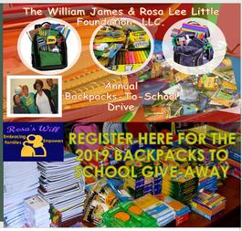 2019 BackPacks To School Fundraiser