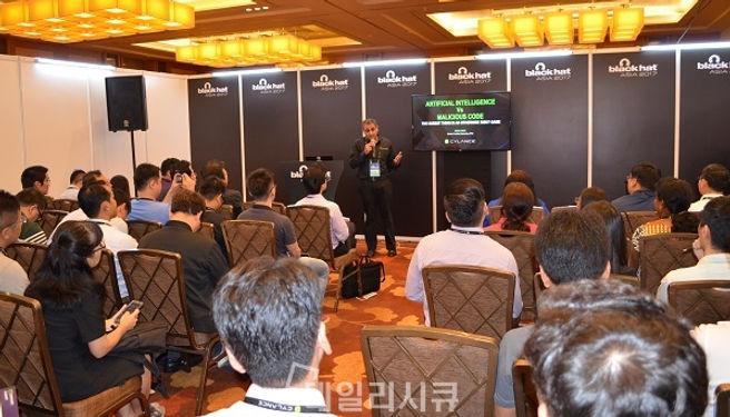 사일런스 Cylance 파고네트웍스 PAGO Networks 블랙햇 인공지능 머신러닝 안티바이러스 엔드포인트보안 CylancePROTECT 사일런스프로텍트 권영목
