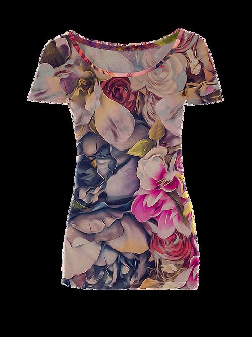 Flower Womens T-Shirt