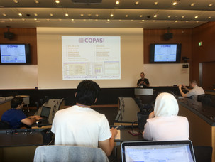 Training in COPASI tutorial!