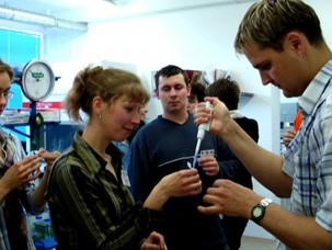 Bioinformatics course in Lithuania