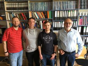Meeting Rhodolive partners in Kassel