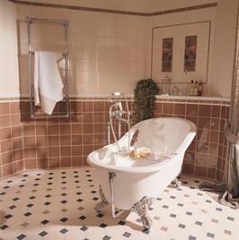 Secesní klasická koupelna
