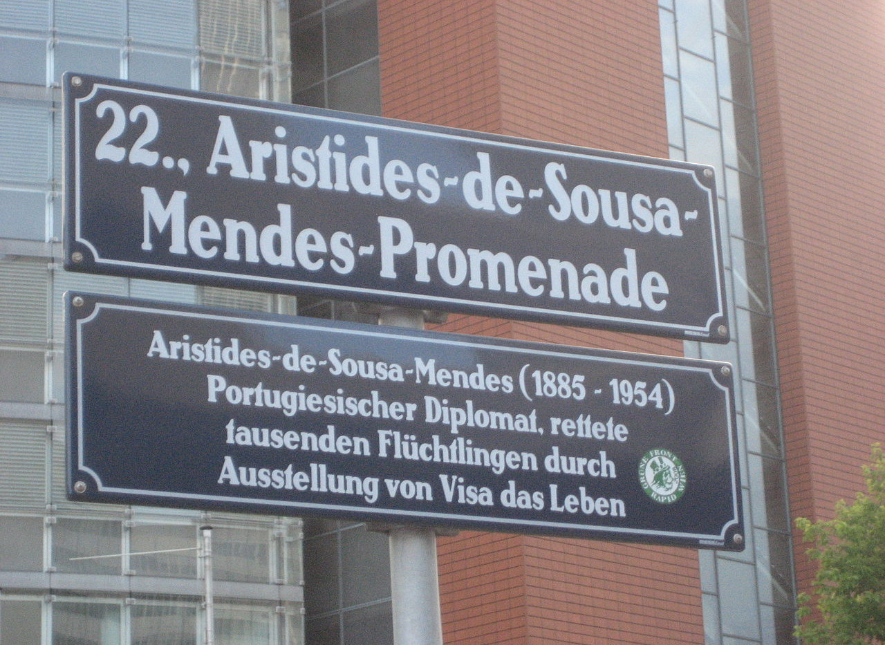 Praça Aristides de Sousa Mendes em Viena