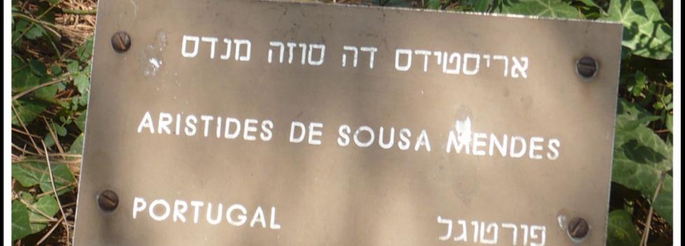 Aristides de Sousa Mendes, um Justo entre as Nações, no Yad Vashem