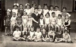 Turma de 1º ano, Gueto de Lodz 1942