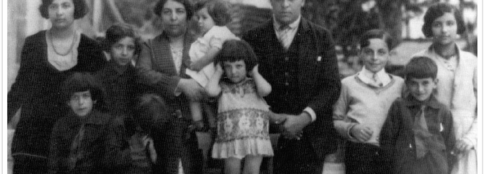 Aristides de Sousa Mendes e sua família.