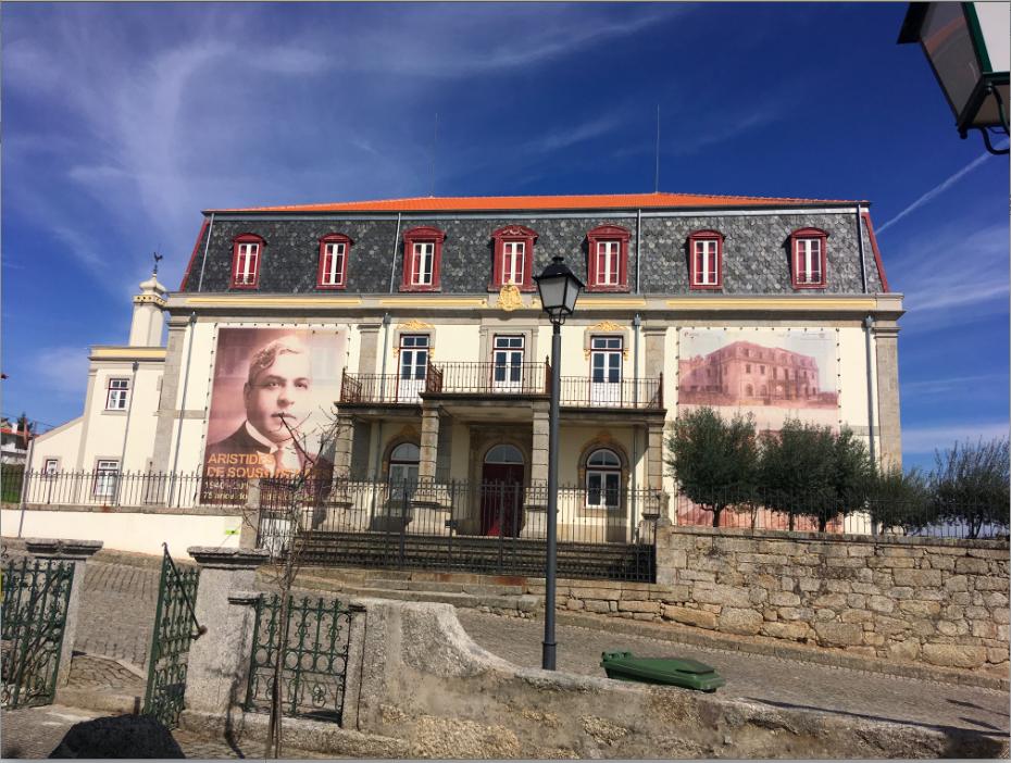 Casa de Aristides de Sousa Mendes em Cabanas de Viriato (2019).