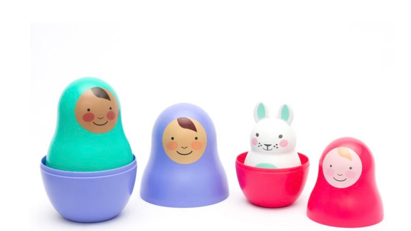 Jewel Nesting Dolls