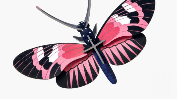 Studio Roof 3D Longwing Butterfly