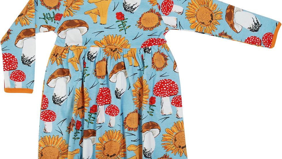Sunflower L/S Twirly Dress