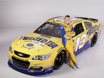 Twisted Tea Partners with Ty Dillon and No. 13 Chevrolet SS in Multi-Year Agreement