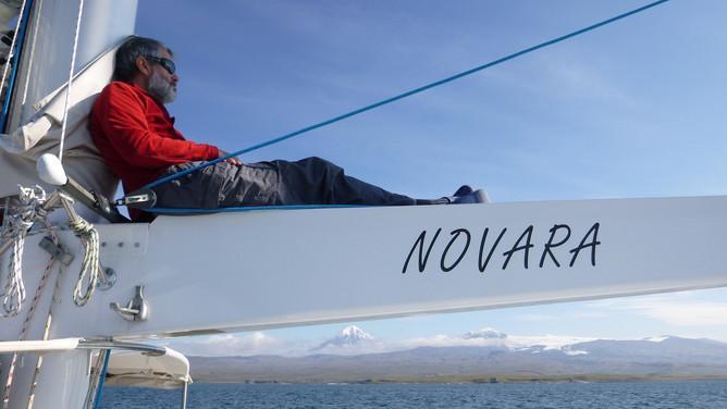 A calm Bering Sea