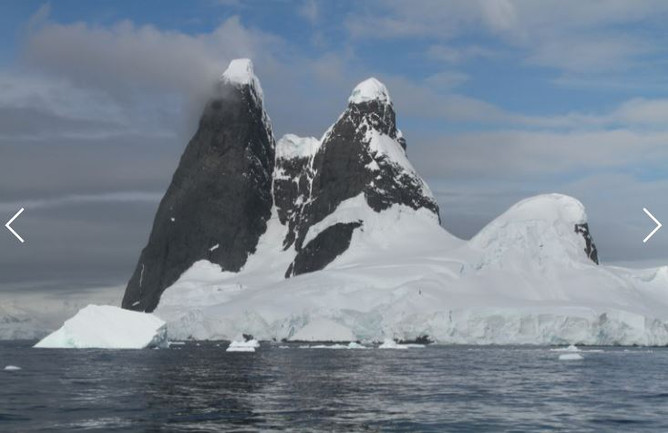 Cape Reynard and the Lemaire Channel