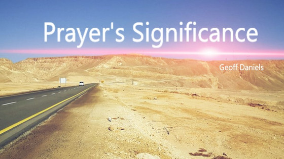 Prayer's Significance