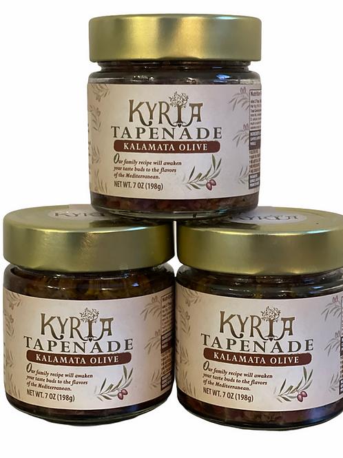 Kalamata Olive Tapenade (3 Pack)