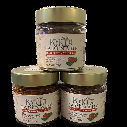 Sundried Tomato and Basil Kalamata Olive Tapenade (3 Pack)
