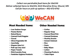 Support WeCAN at National Night Out