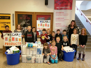 Shirley Hills Collects for WeCAN