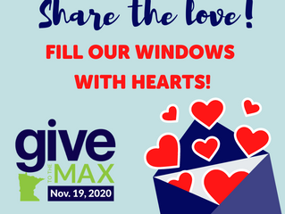 """Share the Love"" on Give to the Max Day!"