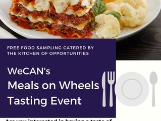 Join Us for Free Meals on Wheels Tasting Event