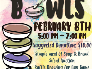 Empty Bowls Fundraiser!