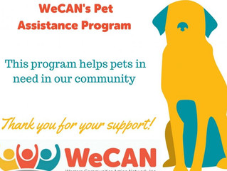 Support our Pet Assistance Program