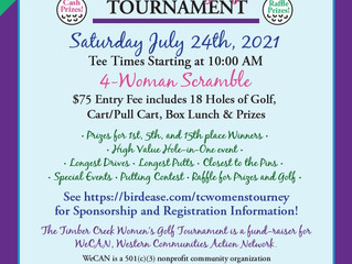 Timber Creek to Host 4th Annual Women's Golf Tourney
