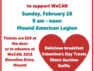 Omelet Breakfast Fundraiser is Feb. 10
