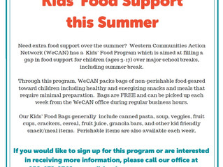 Summer Food Support Offered for Kids