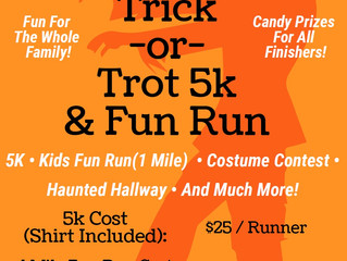 Trick-or-Trot 5K Run to Benefit WeCAN