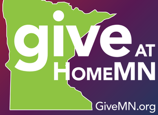 Support Our #GiveAtHomeMN Campaign