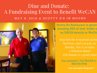Dine & Donate at Scotty B's on May 6