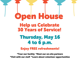 Join Us for our Open House on May 16