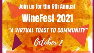 WineFest 2021: A Virtual Toast to Community