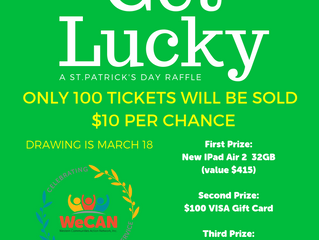 Get Lucky -- a St. Patrick's Day Raffle!