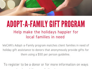Adopt-a-Family Registration is Open!